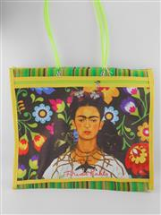 Sale 8514H - Lot 24 - Frida Kahlo Tote Bag w zip pocket & long handle