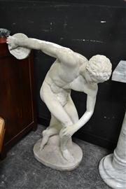 Sale 8147 - Lot 1003 - Concrete The Discus Thrower