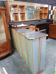 Sale 8585 - Lot 1025 - Vintage Australian Maple Bar Unit