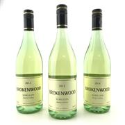 Sale 8687 - Lot 879 - 3x Brokenwood Semillon, Hunter Valley - 1x 2012, 1x 2013, 1x 2014 (3 bottles)