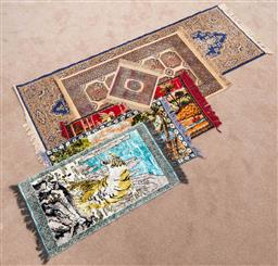 Sale 9103M - Lot 747 - A collection of Persian rugs and prayer mats, Length of runner 203cm