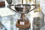 Sale 8322 - Lot 15 - English Hallmarked Sterling Silver Cooma Cup by Hardy Brothers (Weight - 113g)