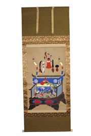 Sale 8153 - Lot 67 - Japanese Painting Scroll