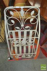 Sale 8331 - Lot 1077 - Metal Magazine Rack