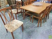 Sale 8435 - Lot 1032 - G-Plan Teak Table and Eight Chairs
