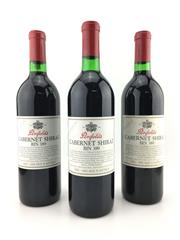 Sale 8553 - Lot 1738 - 3x 1992 Penfolds Bin 389 Cabernet Shiraz, South Australia