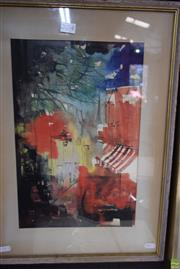 Sale 8582 - Lot 2044 - Artist Unknown - Paris Scene 54 x 39.5cm (frame)