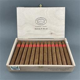 Sale 9120W - Lot 1499 - Partagas 'Serie P No.2' Cuban Cigars - box of 25 cigars, dated July 2020