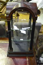 Sale 8058 - Lot 1017 - Small Timber Display Cabinet w/ Glass Shelves