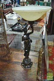 Sale 8328 - Lot 1096 - Lady Form Table Lamp