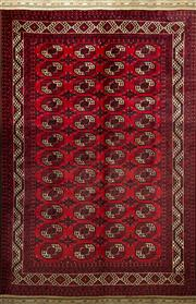 Sale 8345C - Lot 89 - Approx. 50 Years Old Afghan Turkman 350cm x 250cm