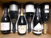 Sale 8519W - Lot 65 - 6x Assorted Sparkling Wines incl. Chandon, Croser, Grant Burge