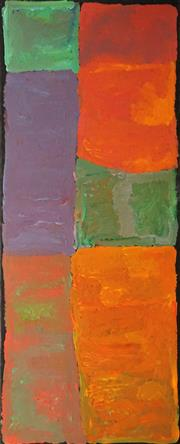 Sale 8616 - Lot 531 - Kudditji Kngwarreye (c1928 - 2017) - My Country, 2007 200 x 80cm (stretched & ready to hang)
