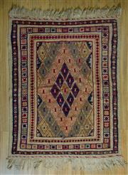 Sale 8693C - Lot 27 - Persian Somak 142cm x 101cm