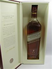 Sale 8225 - Lot 1763 - 1x Johnnie Walker The Explorers Club Collection - The Royal Route Blended Scotch Whisky - 1000ml in presentation box