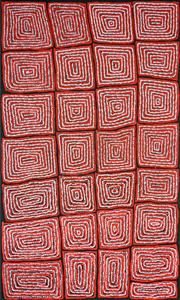 Sale 8321 - Lot 548 - Thomas Tjapaltjarri (c1964 - ) - Tingari 152 x 95cm
