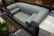Sale 8515 - Lot 1020 - Two Seater Sofa with Bolster Cushions