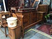 Sale 8942 - Lot 1007 - Wentworth Timber King Sized Bed (L: 220, W: 190 cm)