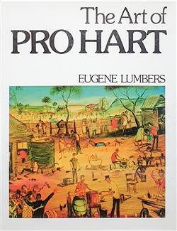 Sale 9093A - Lot 5084 - LUMBERS, Eugene  The Art of Pro Hart (hardcover), published 1977 -