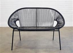 Sale 9174 - Lot 1449A - Two seater wire form outdoor lounge (h80 x w115 x d67cm)