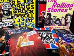 Sale 9254 - Lot 2001 - Collection of Books on the Music World incl. Sex Pistals File, ed. R. Stevenson; Sex, Drugs & Rock N Roll; Australian Music,...