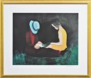 Sale 8161A - Lot 83 - Charles Blackman (1928 - ) - Afternoon Light 66 x 86cm (frame size, 101 x 121cm)