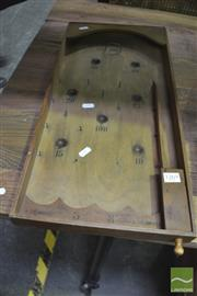 Sale 8326 - Lot 1269 - French Pinball Game