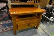 Sale 8500 - Lot 1241 - Timber Side Table