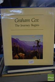 Sale 8530 - Lot 2242 - 3 Volumes: Graham Cox The Journey Begins, signed edition, pub. Craftsman House, 1988; Australian Impressionist & Realist Artists...