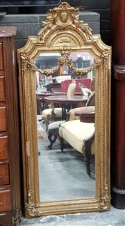 Sale 8831 - Lot 1036 - Antique Continental Gilt Framed Mirror