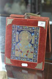 Sale 8276 - Lot 39 - Hand Painted Icon