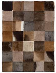 Sale 8431A - Lot 662C - Checkerboard Game Rug, approx 140 x 102cm