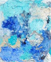 Sale 8484 - Lot 597 - Cyndi Rogoff (1976 - ) - Blue Frontier 32 x 38cm
