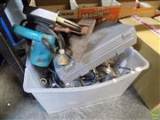 Sale 8563T - Lot 2291 - Tub of 4 Power Tools