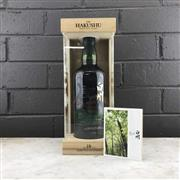 Sale 9017W - Lot 4 - The Hakushu Distillery 18YO Single Malt Japanese Whisky - limited edition bottling, 43% ABV, 700ml in presentation box