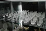 Sale 8014 - Lot 17 - A set of 6 and 8 Stuart Glasses, and 2 Sets of Waterford Tumblers