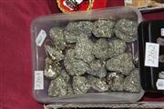 Sale 8169 - Lot 2261 - Box of Fools Gold (Pyrite)
