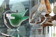 Sale 8217 - Lot 10 - Durant Crystal Fish & Another Art Glass Fish