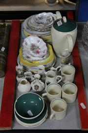 Sale 8346 - Lot 68 - Susie Cooper Coffee Wares with Other Ceramics incl. Shelley