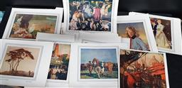 Sale 9208 - Lot 2018 - Collection of Prints