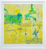 Sale 8266 - Lot 534 - John Olsen (1928 - ) - Frog Dance 85 x 80cm