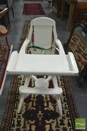 Sale 8338 - Lot 1470 - Timber High Chair