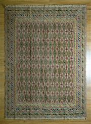 Sale 8693C - Lot 32 - Super Fine Persian Somak 290cm x 216cm