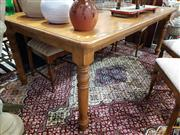Sale 8889 - Lot 1083 - Large Pine Farmhouse Style Dining Table
