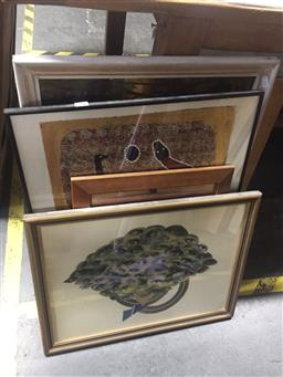 Sale 9130 - Lot 2065 - a group of assorted artworks including original paintings, screen prints and aboriginal artworks