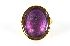 Sale 3724 - Lot 130 - A HANDSOME MID VICTORIAN AMETHYST CAMEO RING;