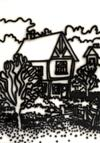 Sale LM7825 - Lot 51 - HOWARD ARKLEY (1951-1999) - Tudor House, Fitzroy Gardens 1987 synthetic polymer paint on paper laid on canvas