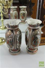 Sale 8217 - Lot 57 - Japanese Pair of Vases