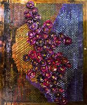 Sale 8310A - Lot 454 - Eirini Pagoni - Abstract Foil Flowers