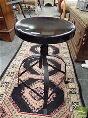 Sale 8465 - Lot 1648 - Two Height Adjustable Stools